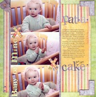 Pat-a-cake  *Cantata Books Mother Goose Guide**