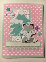 Little Wolf Winter Valentine