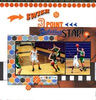 3-Point Basketball Star