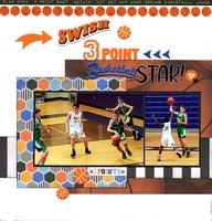 3-Point Basketball Star