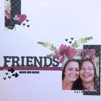 FRIENDS (Feb 2020 Alphabet Challenge)