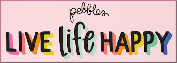 Live Life Happy Pebbles