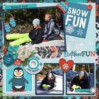 EMZA snow day