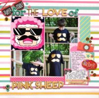 For The Love Of Pink Sheep