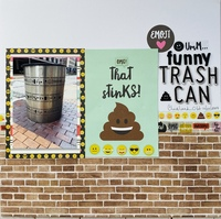 Funny Trash Can