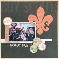 Feb Use Your Stash/ Scout Fun