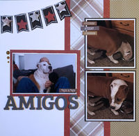 Amigos (Feb 2020 Double Page Challenge)