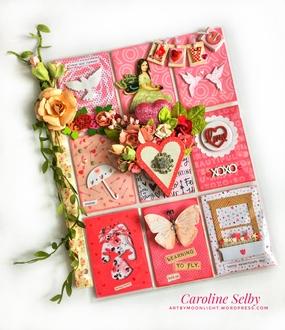Be My Valentine pocket letter
