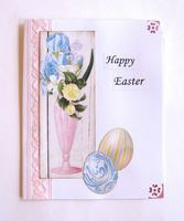 Easter Card Tall Vase