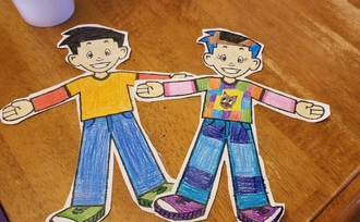 Flat Stanley and Stephanie