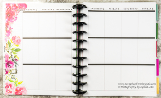 Spring Before the Pen Planner Spread