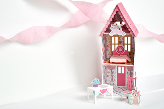 It's Your Birthday Girl Dollhouse Doll House