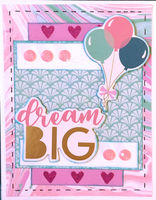 dream Big (March 2020 Card Challenge)