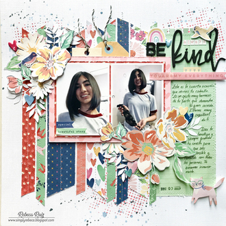 Always Be Kind Layout