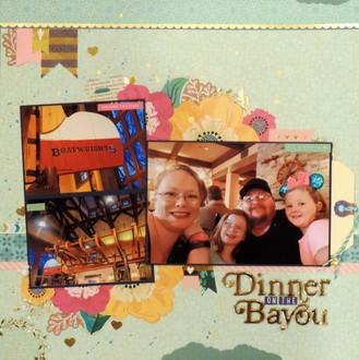 Dinner on the Bayou