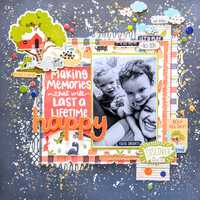 Layout #3 - Making Memories - March Guest Designer