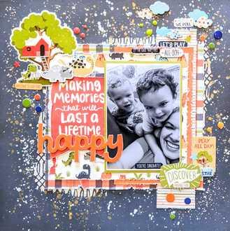 Layout #3 - Making Memories - March Guest Designer