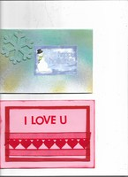 V-Day & Winter cards