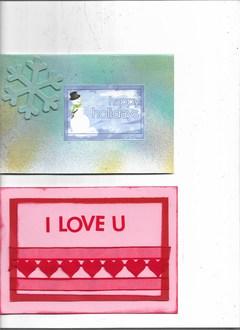V-Day & Winter cards
