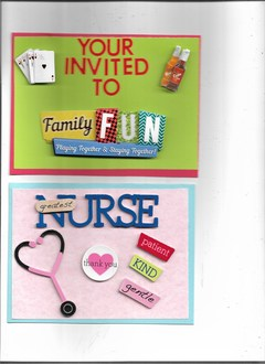 nurse & your invited cards