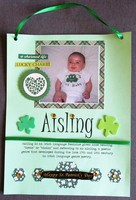 Aisling / St. Patrick's Day decoration
