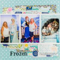 Anna and Elsa Layout