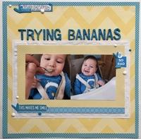 Trying Bananas