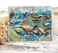 Seascape Shaker Card