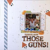 Check Out THOSE GUNS! (April 2020 Title Challenge)