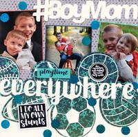 #BoyMom Playtime Everywhere