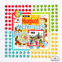 Magical Memories Layout **Doodlebug Design**