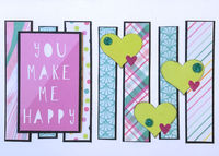 You Make Me Happy (April 2020 Card Challenge)