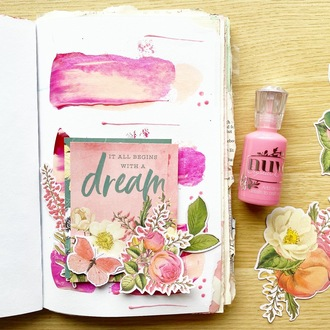 Junk Journal Page - VB Challenge Day 10