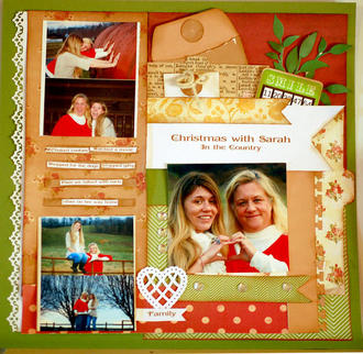 Christmas with Sarah in the Country