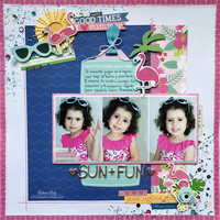 Sun + Fun Layout