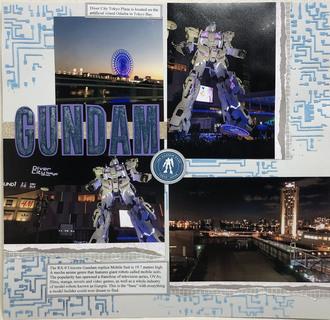 Diver City Tokyo Gundam