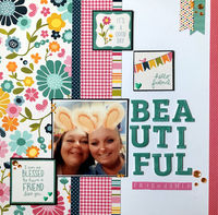 Beautiful Friendship (April 2020 Elevate Your Stamping Challenge)