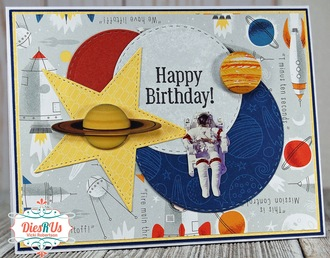 Out of this World Happy Birthday