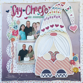 Say Cheese and Celebrate Layout