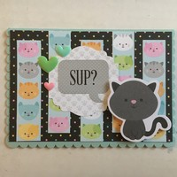 'Sup Kitty Card