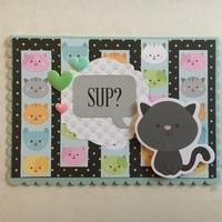 'Sup Kitty Card