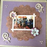 Mother's Day Bonus Layout/Card