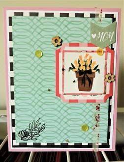 Floral Mom Card