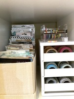 Non-traditional Craft Storage