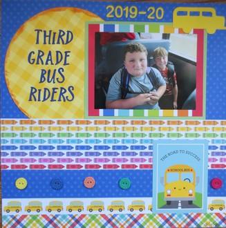 3rd grade bus riders