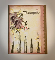 Miss You card for mailing