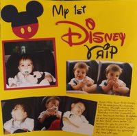 My 1st Trip to Disney