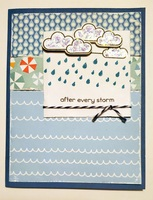 Card - After every storm... Comes a rainbow