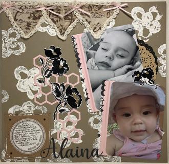 Alaina with journaling