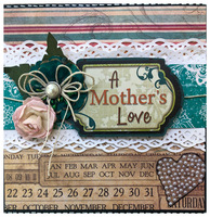 Mother's Love card